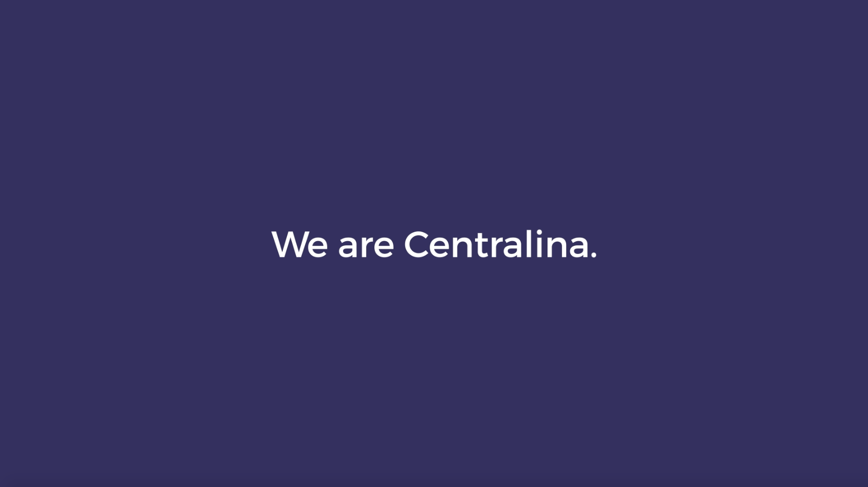 We are Centralina.